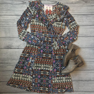 Ruffled Navajo Dress