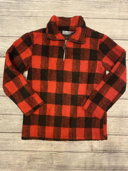 Red Buffalo Plaid Sherpa