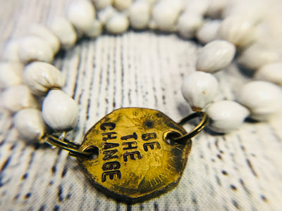 Be the Change Bead Bracelet