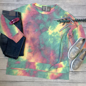 Terry Tie Dye Top