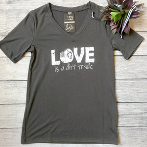 Love is a Dirt Track Tee