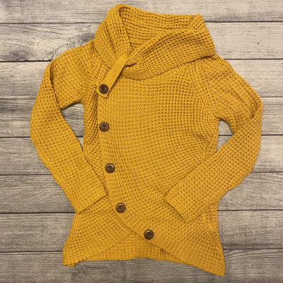 Mustard Button Cowl Sweater-Sweater-Mooi nu-Small-9Lilas