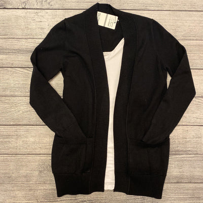 Black Sweater Cardigan-Cardigan-Mooi Nu Collection-Small-9Lilas