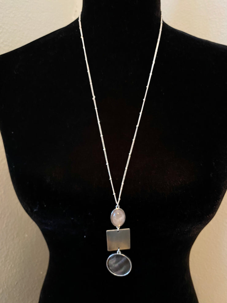 Shell Shapes Necklace Set