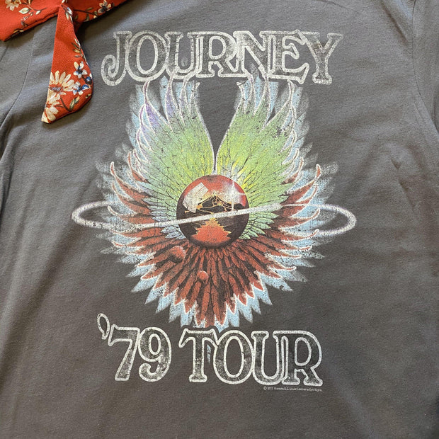 Journey '79 Tour Tee-tee-Rock N Roll Wholesale-Small-9Lilas