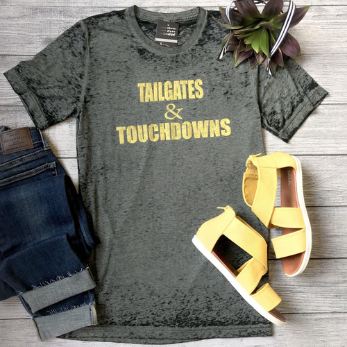 Tailgates & Touchdowns - Black