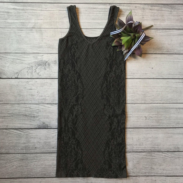 Jacquard Seamless Dress