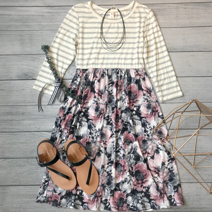 Summer Florals Dress