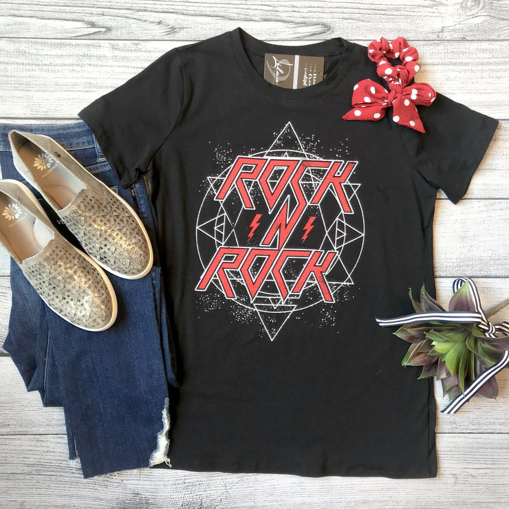 """Rock N Rock"" Graphic Tee"