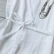 Eyelet Patchwork Dress