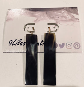 Vertical Strip Earrings
