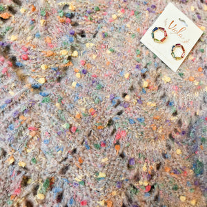 Multi Color Boucle Sweater