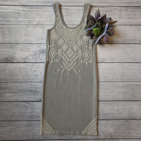Aztec Jacquard Seamless Dress