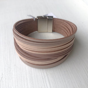 Leather Twist Bracelet