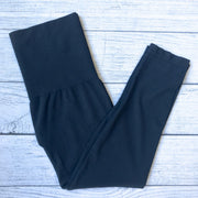 Tummy Tuck Cropped Leggings-CURVY