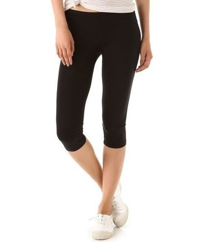 Basic Black Capri Legging