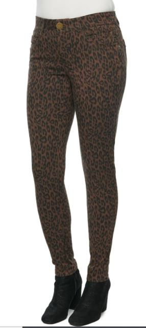 Democracy AbSolution Leopard Print Jegging