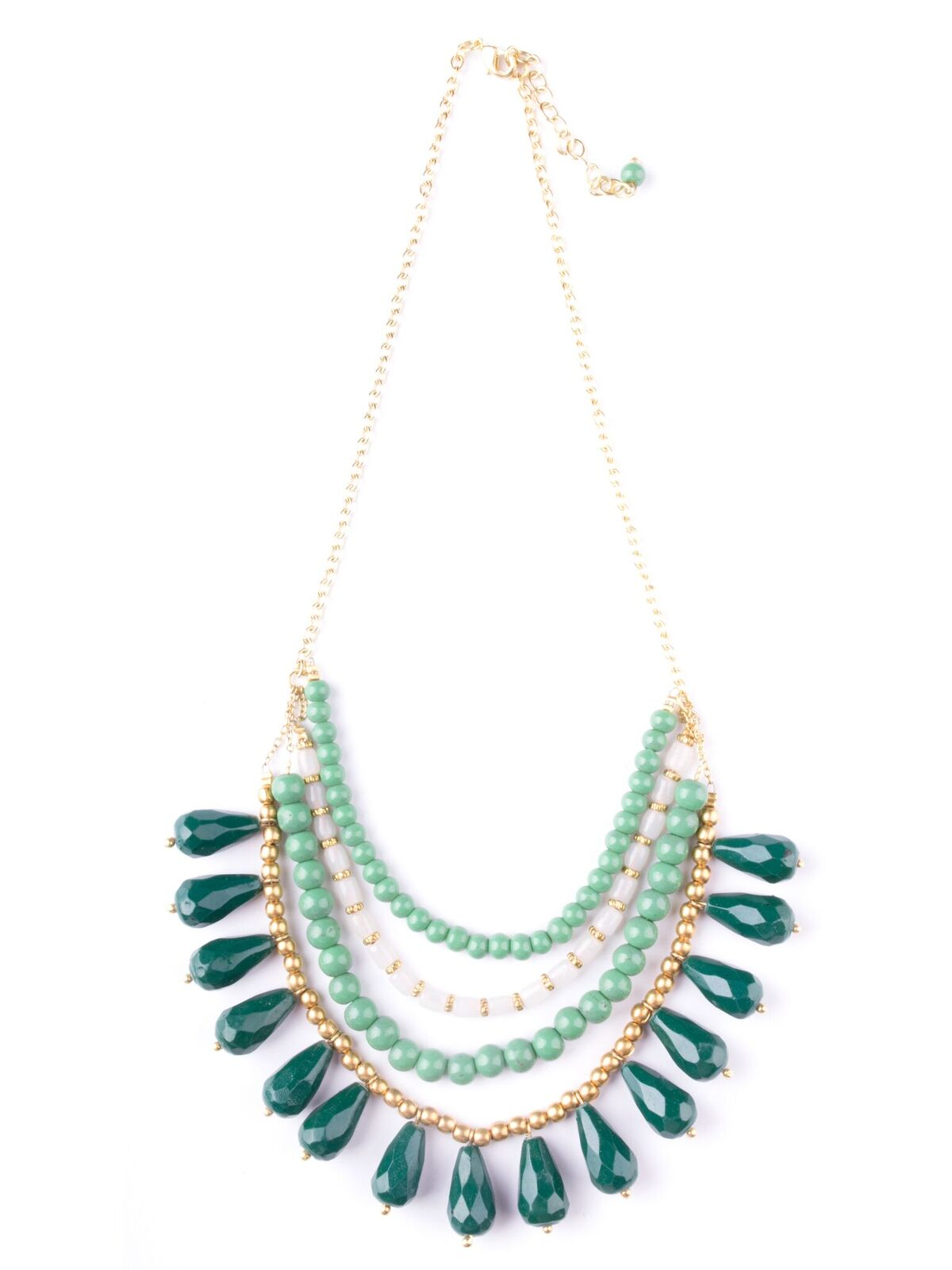 Etta Necklace - Green