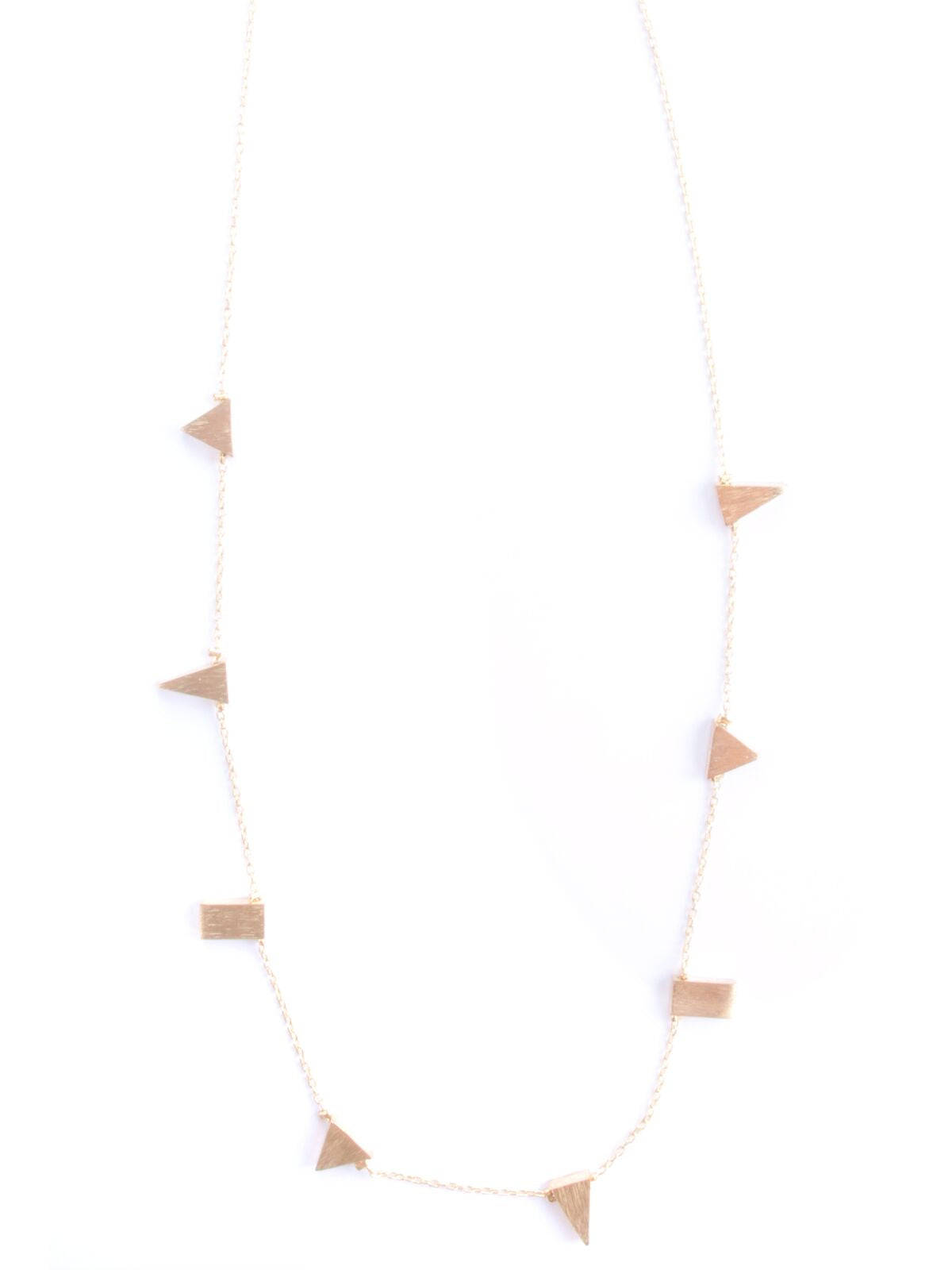 Simple Shaped Necklace - Gold