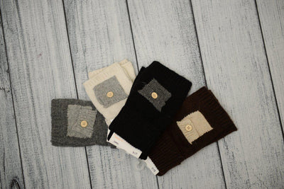 Hand Warmers with Pocket Detail