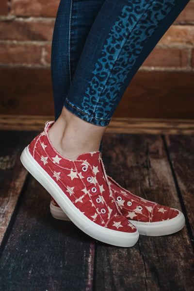 Red Star Canvas Sneaker 6-11