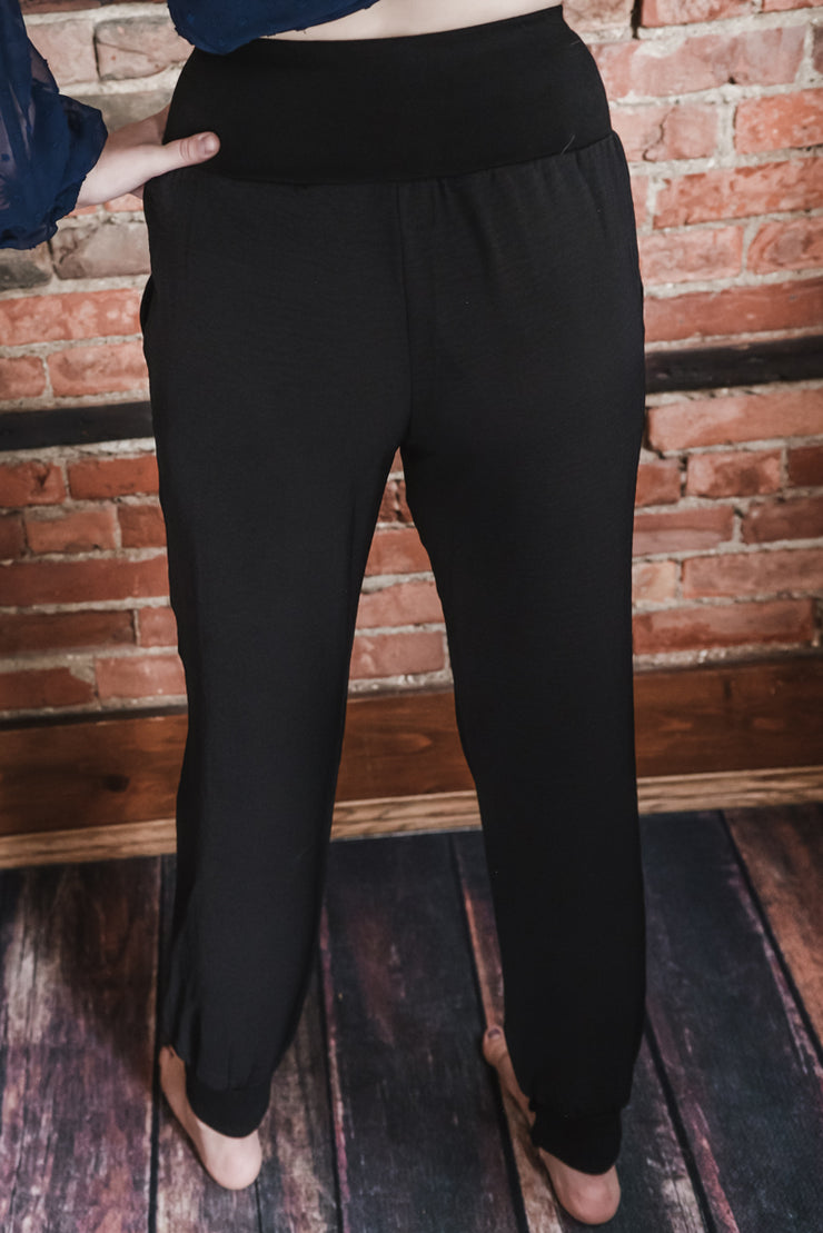 Black Apartment Pants S-XL
