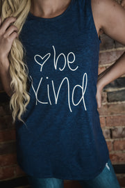 Be Kind Graphic Tank S-2X-Tank-9Lilas