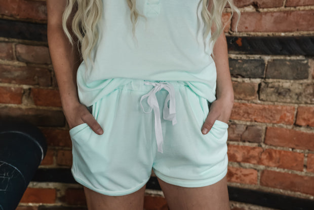 Tank & Shorts Lounge Set S-XL