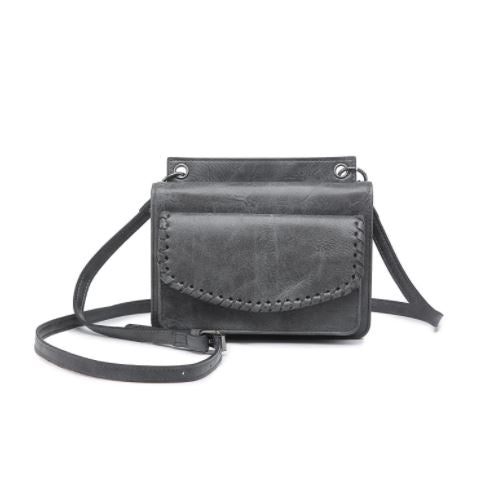 Whipstitch Crossbody Wallet
