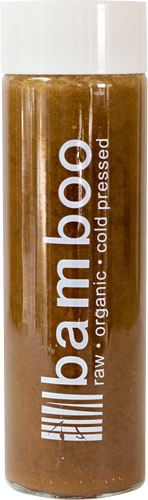 Creamy Cold Brew, Raw, Organic, Cold Pressed Juice by Bamboo Juices
