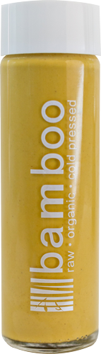 Honey Turmeric, Raw, Organic, Cold Pressed Juice by Bamboo Juices