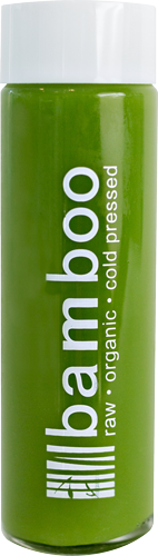 Spinach Apple, Raw, Organic, Cold Pressed Juice by Bamboo Juices