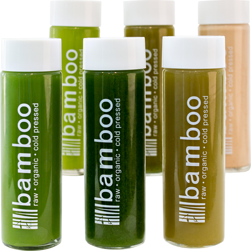 The Greens Cleanse - 1 Day, Raw, Organic, Cold Pressed Juice by Bamboo Juices