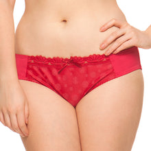Curvy Kate Daisie Brief Ruby Print