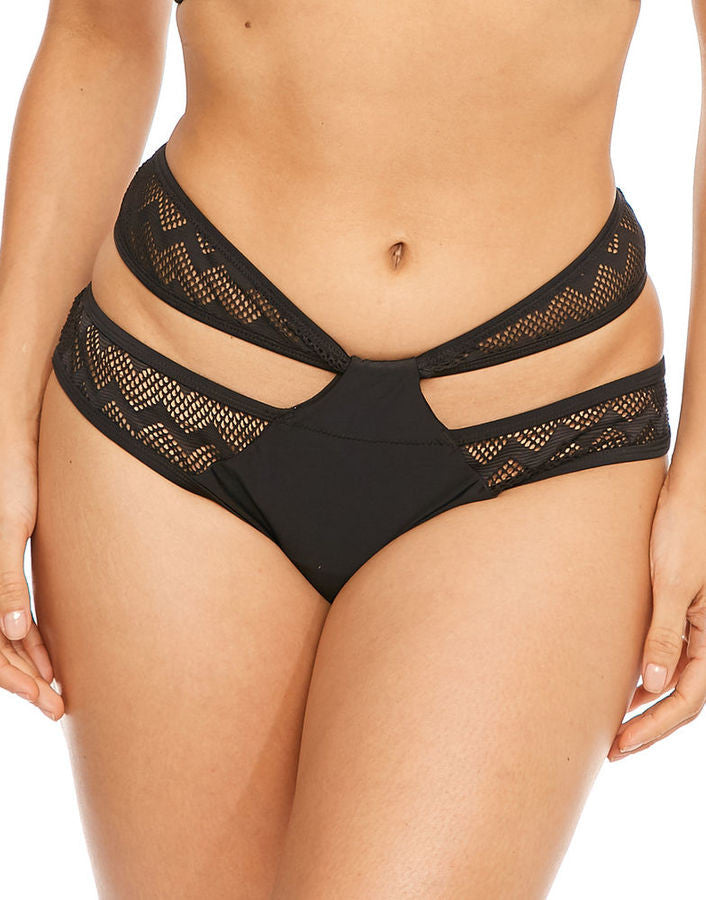 Curvy Kate Hi Voltage Strappy Mini Brief Black