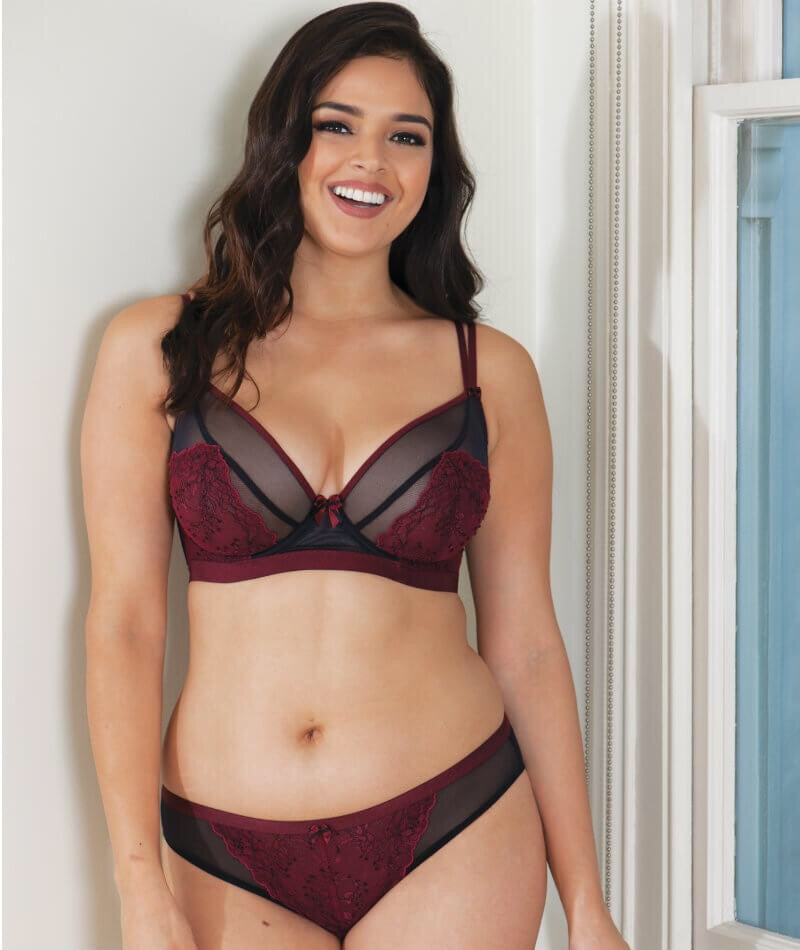 Curvy Kate Dragonfly Black/Wine