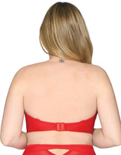 Curvy Kate Sheer Class Plunge Swimsuit Red
