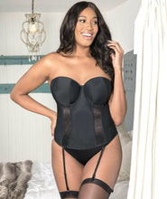 Curvy Kate Luxe Strapless Basque Black