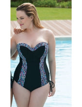 Curvy Kate Galaxy Swimsuit Multi Print