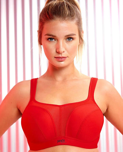 Panache Wired Sports Bra Fiery Red