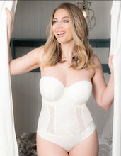Curvy Kate Luxe Strapless Basque Ivory
