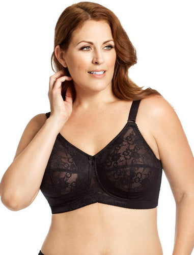 Elila Lace Softcup Black