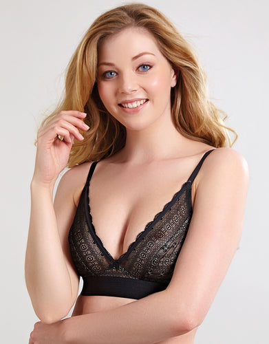 Panache Lyzy Triangle Bra Black