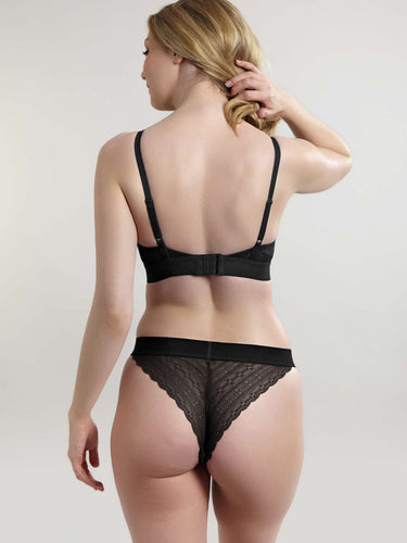 Panache Lyzy Tanga Brief Black