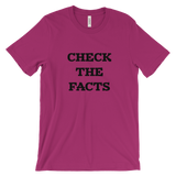 Check The Facts Men's T-Shirt