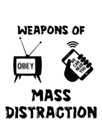 WMD (Weapons of Mass Distraction) Men's T-Shirt