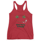 Don't Worry, Be Happy Women's Tank Top