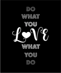 Do What You Love Women's V-Neck
