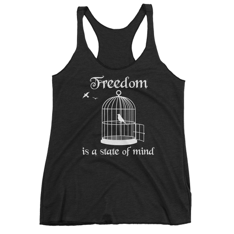 Freedom Is A State of Mind Women's Tank Top