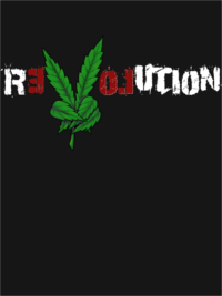 Marijuana Revolution Men's T-Shirt